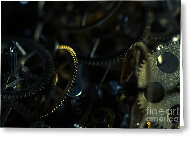 Just A Cog In The Machine 4 Greeting Card