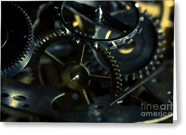 Just A Cog In The Machine 5 Greeting Card