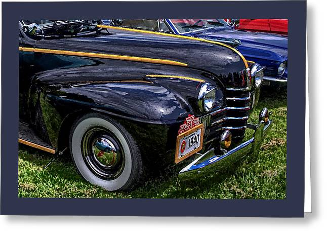 Just A Cool Olds Greeting Card by Thom Zehrfeld