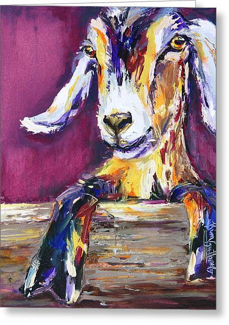 Just A Kid- Original Oil Painting And Prints Greeting Card