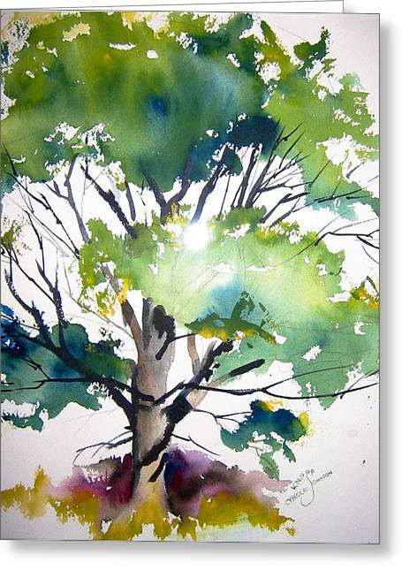 Just A Tree Greeting Card