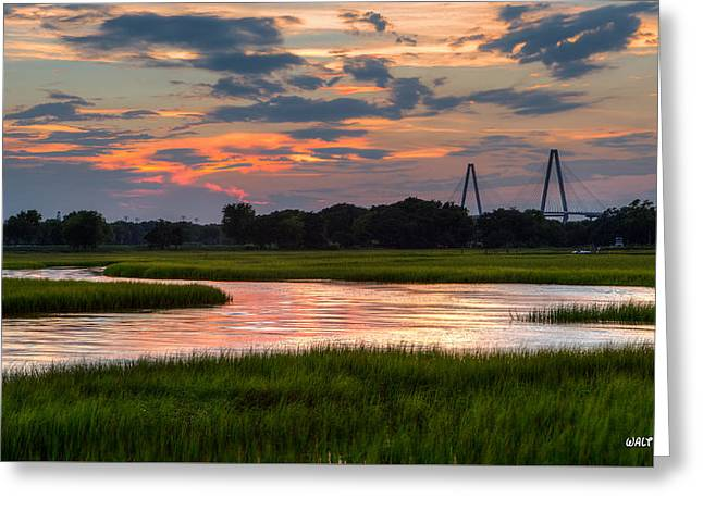 Just Another Ravenel Sunset Greeting Card