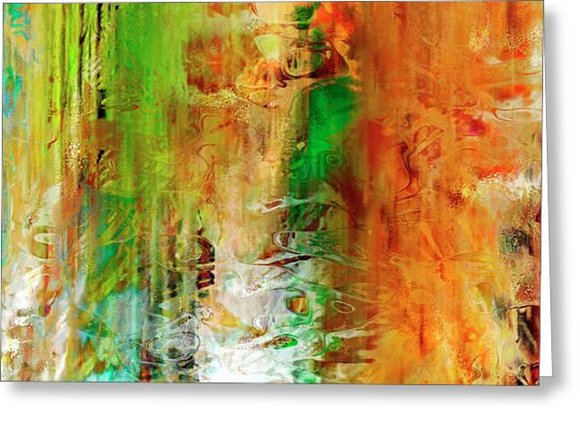Just Being - Abstract Art Greeting Card