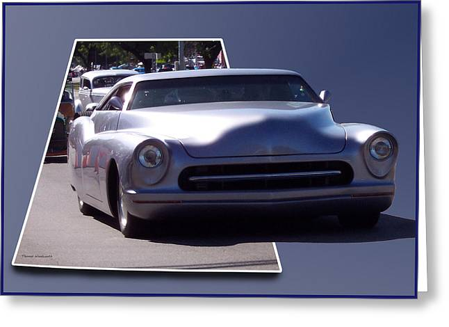 Just Cruising Greeting Card by Thomas Woolworth