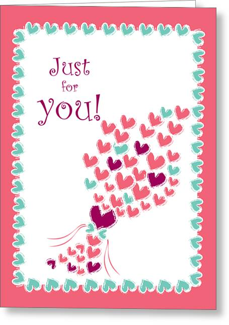 Just For You Greeting Card