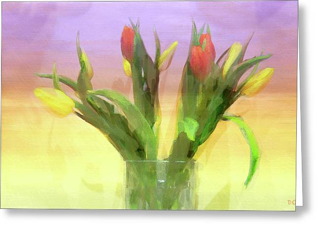 Just Like Spring Greeting Card by Declan O'Doherty
