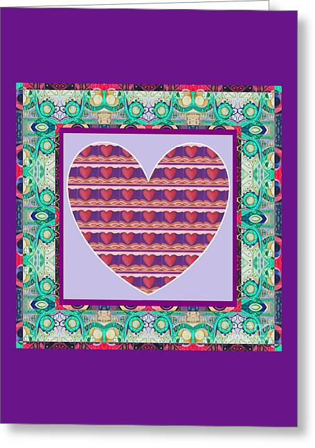 Just Love - Take 4 Greeting Card by Helena Tiainen