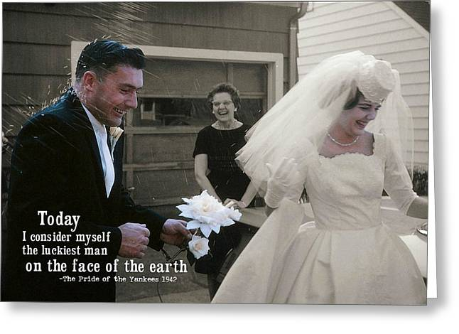 Just Married Today Quote Greeting Card by JAMART Photography