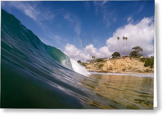 Just Me And The Waves Greeting Card by Sean Foster