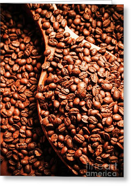 Just One Scoop At The Coffee Brew House  Greeting Card by Jorgo Photography - Wall Art Gallery