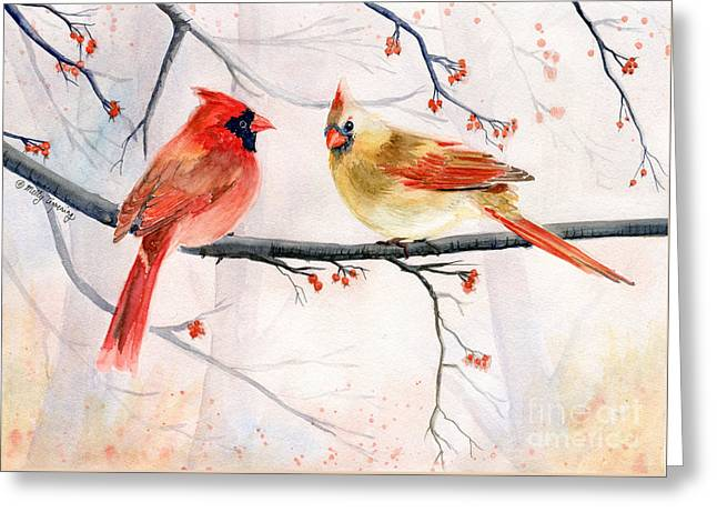 Just The Two Of Us Greeting Card by Melly Terpening