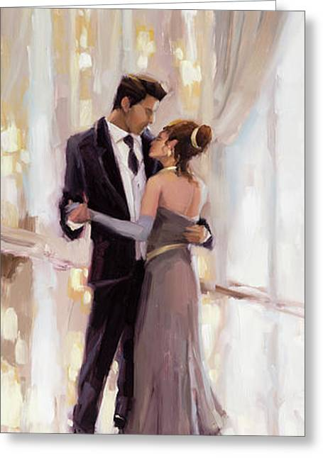 Just The Two Of Us Greeting Card by Steve Henderson