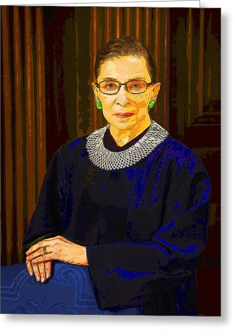 Justice Ginsburg Greeting Card