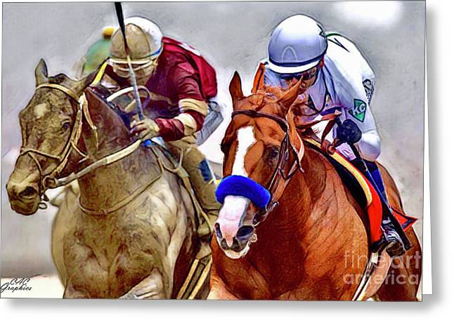Justify In The Lead Greeting Card