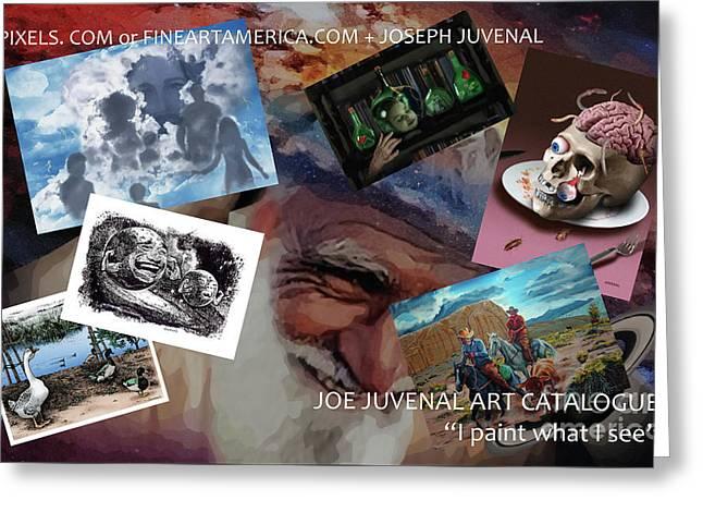 Juvenal Art Catalogue Greeting Card