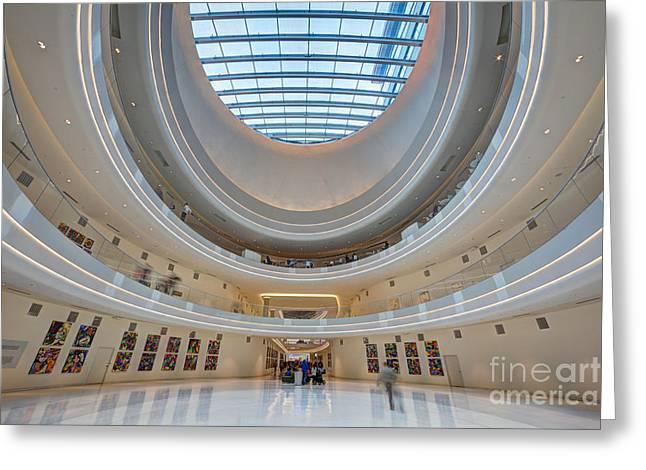 Jw Marriott Minneapolis Mall Of America I Greeting Card by Wayne Moran