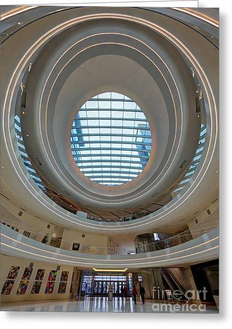 Jw Marriott Minneapolis Mall Of America II Greeting Card by Wayne Moran