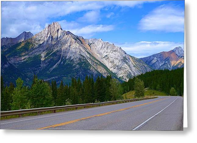 Kananaskis Country Greeting Card by Heather Vopni
