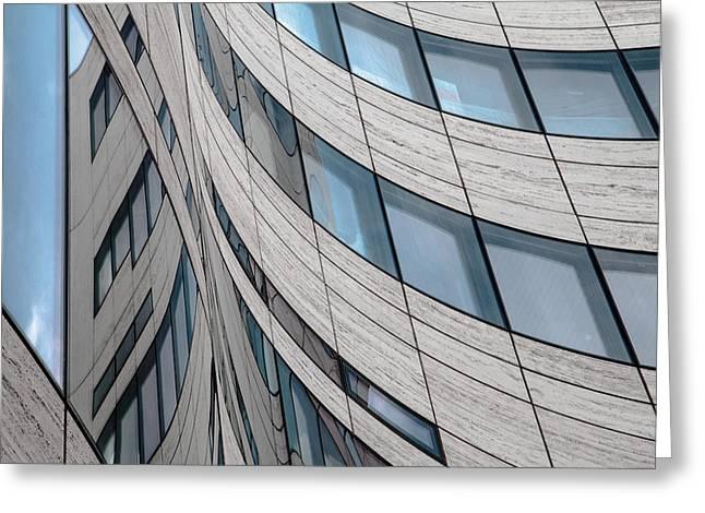 Ka? Windows Greeting Card by Gilbert Claes