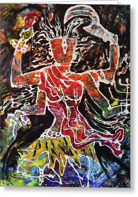 Kaalratri_the Goddess That Rules The Night Greeting Card