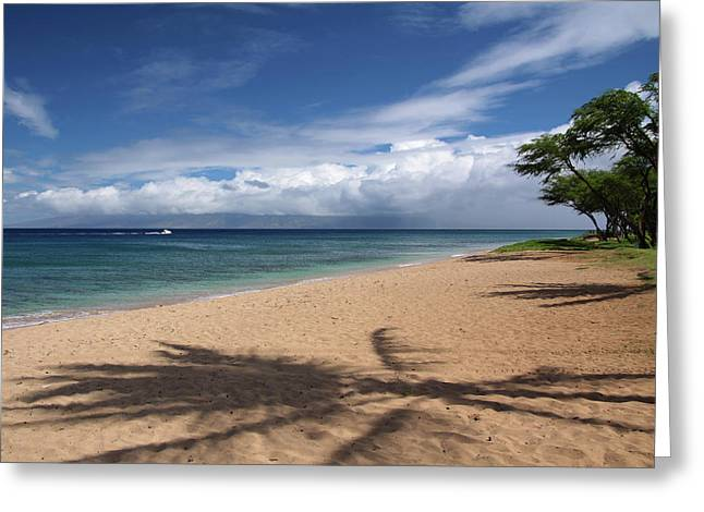 Ka'anapali Beach - Maui Greeting Card