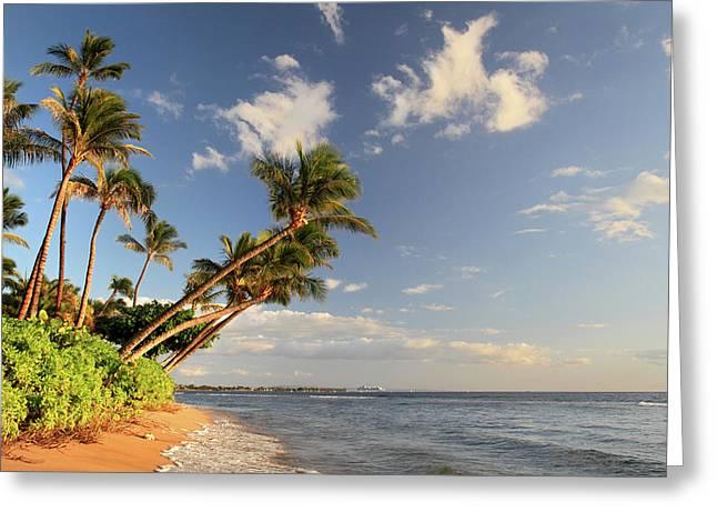 Ka'anapali Beach Maui Greeting Card by Pierre Leclerc Photography