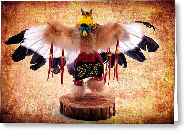 Kachina Doll No 402 Greeting Card by James Bethanis