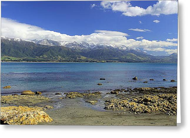Kaikoura Panorama Greeting Card