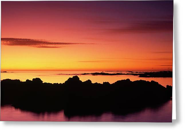 Kaikoura Sunrise, New Zealand. Greeting Card