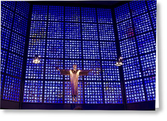 Kaiser Wilhelm Memorial Church -  Berlin Germany Greeting Card