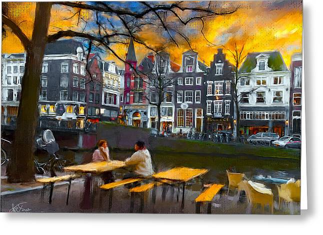 Kaizersgracht 451. Amsterdam Greeting Card