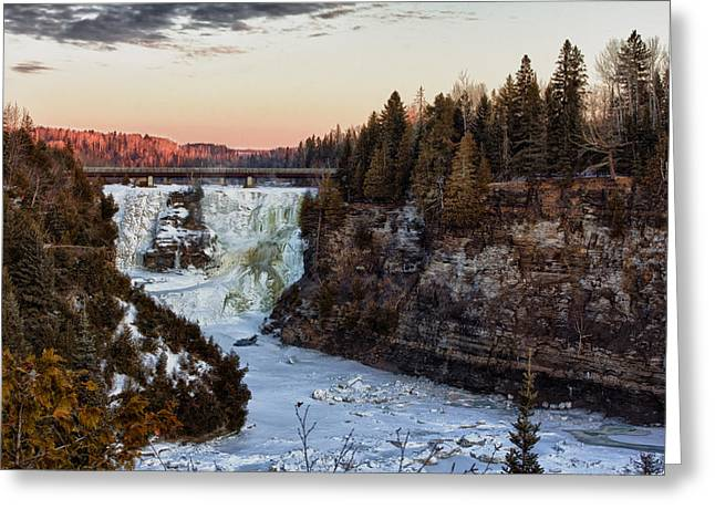 Kakabeka Falls Greeting Card by Jakub Sisak