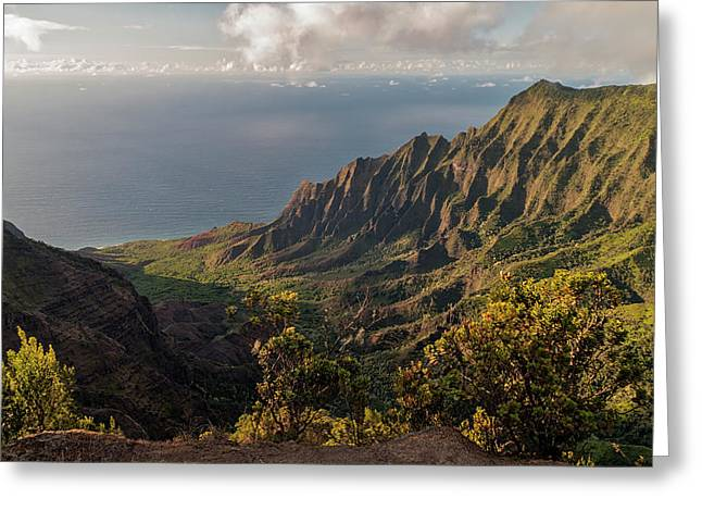 Kalalau Valley 3 Greeting Card