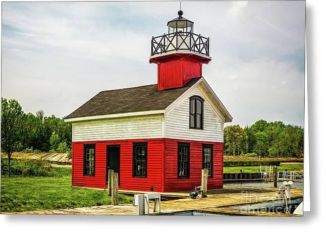 Kalamazoo Lighthouse Greeting Card