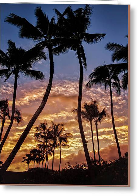 Kalapki Sunset Greeting Card