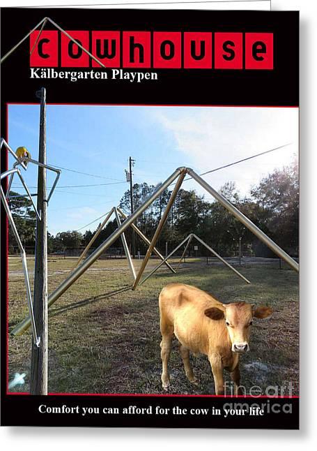 Kalbergarten Playpen No. I Greeting Card