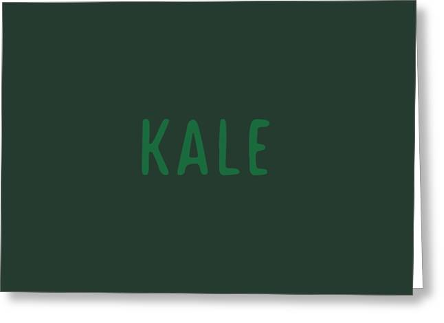 Kale Greeting Card