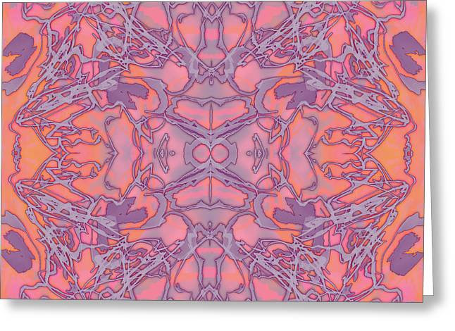 Kaleid Abstract Dream Greeting Card
