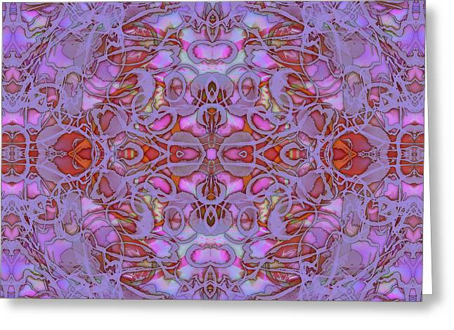 Kaleid Abstract Focus Greeting Card