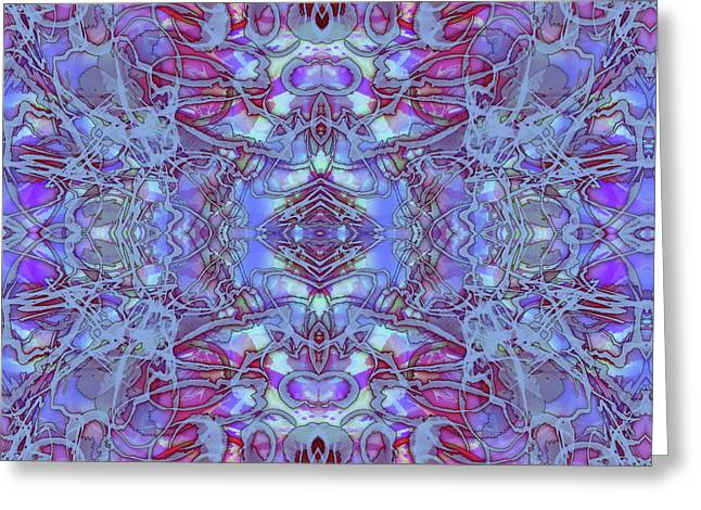 Kaleid Abstract Future Greeting Card