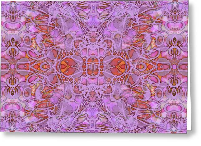 Kaleid Abstract Haven Greeting Card