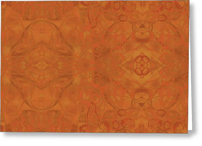 Kaleid Abstract Moroccan Greeting Card