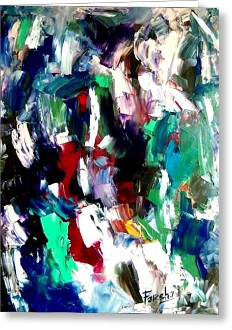 Kaleidoscope - Dream Of A Diverse Harmony Greeting Card by Fareeha Khawaja