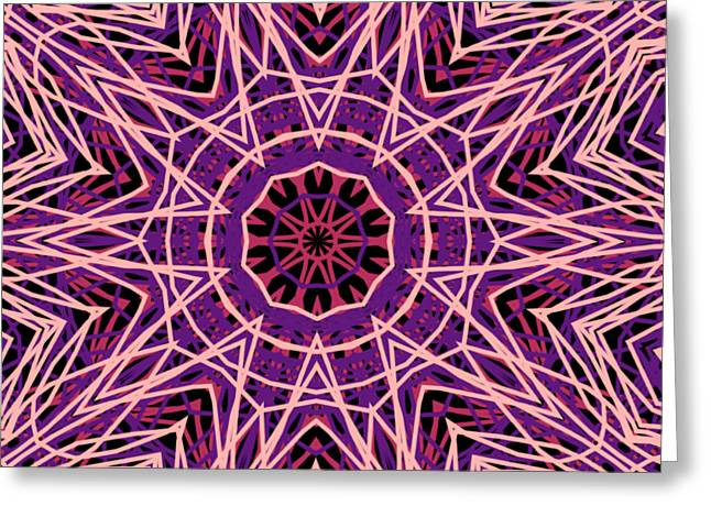 Kaleidoscope 147 Greeting Card