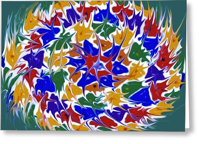 Kaleidoscope A Greeting Card