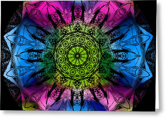Kaleidoscope - Colorful Greeting Card