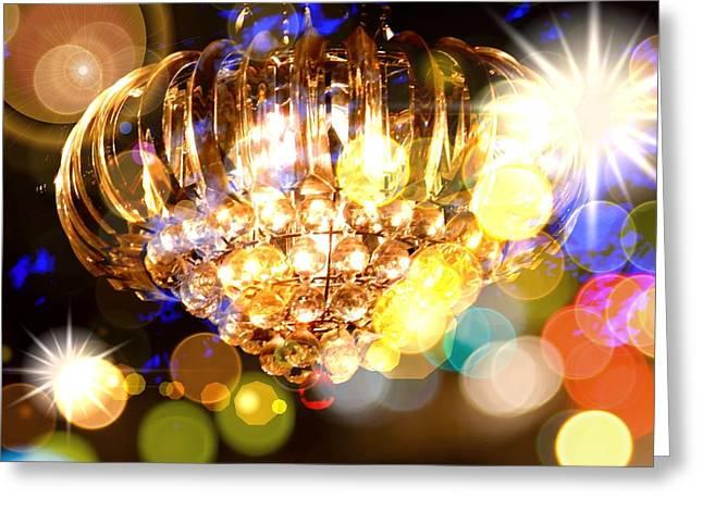 Kaleidoscope Of Light Greeting Card