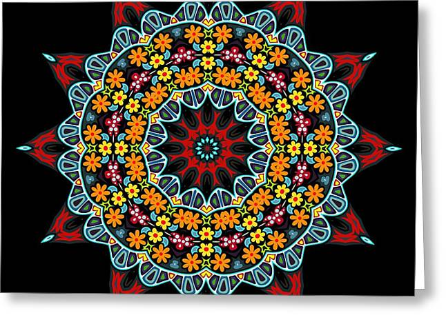 Greeting Card featuring the digital art Kali Kato - 12 by Aimelle