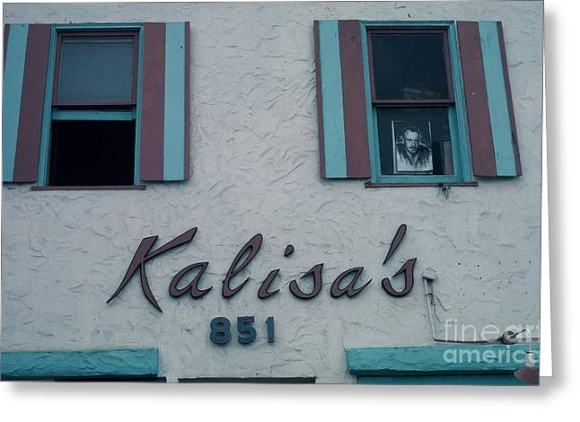 Kalisa's 851 Cannery Row Monterey Greeting Card