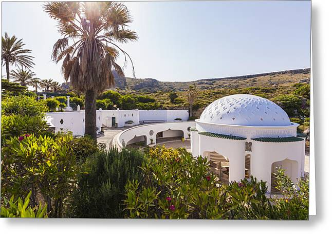 Kallithea Springs Greeting Card